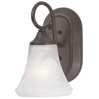 Elipse 1 Light 6 inch Painted Bronze Wall Sconce Wall Light