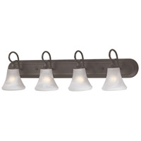 Elipse 4 Light 36 inch Painted Bronze Wall Sconce Wall Light