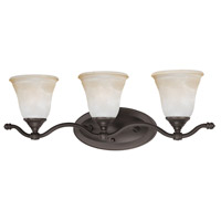 Harmony 3 Light 24 inch Aged Bronze Wall Sconce Wall Light