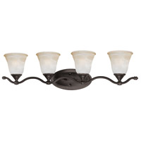 Harmony 4 Light 32 inch Aged Bronze Wall Sconce Wall Light