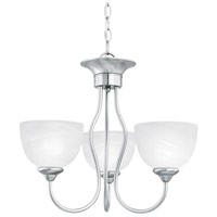 Tahoe 3 Light 19 inch Brushed Nickel Chandelier Ceiling Light