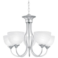 Tahoe 5 Light 24 inch Brushed Nickel Chandelier Ceiling Light