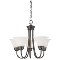Thomas Lighting SL805115 Bella 5 Light 22 inch Oiled Bronze Chandelier Ceiling Light
