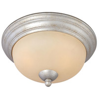 Thomas Lighting SL861572 Triton 2 Light 13 inch Moonlight Silver Flush Mount Ceiling Light