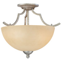 Thomas Lighting SL861672 Triton 2 Light 16 inch Moonlight Silver Flush Mount Ceiling Light