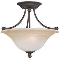Thomas Lighting SL866262 Harmony 2 Light 16 inch Aged Bronze Flush Mount Ceiling Light