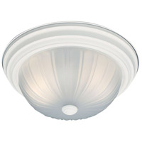 Thomas Lighting SL868218 Essentials 2 Light 13 inch Textured White Flush Mount Ceiling Light