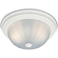 Thomas Lighting SL868218 Ceiling Essentials 2 Light 13 inch Textured White Flush Mount Ceiling Light