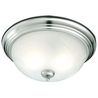 Thomas Lighting SL869178 Essentials 1 Light 11 inch Brushed Nickel Flush Mount Ceiling Light