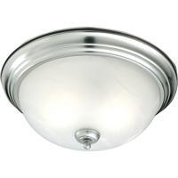 Thomas Lighting SL869178 Ceiling Essentials 1 Light 11 inch Brushed Nickel Flush Mount Ceiling Light