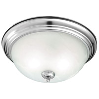 Harmony 2 Light 13 inch Brushed Nickel Flush Mount Ceiling Light