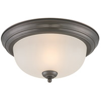 Thomas Lighting SL878115 Essentials 1 Light 11 inch Oiled Bronze Flush Mount Ceiling Light