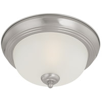 Thomas Lighting SL878178 Ceiling Essentials 1 Light 11 inch Brushed Nickel Flush Mount Ceiling Light