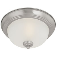 Pendenza 2 Light 13 inch Brushed Nickel Flush Mount Ceiling Light