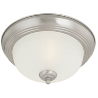 Thomas Lighting SL878378 Essentials 3 Light 16 inch Brushed Nickel Flush Mount Ceiling Light