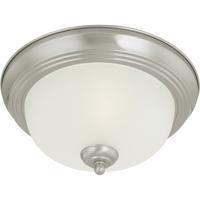 Thomas Lighting SL878378 Ceiling Essentials 3 Light 16 inch Brushed Nickel Flush Mount Ceiling Light