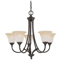 Harmony 5 Light 26 inch Aged Bronze Chandelier Ceiling Light