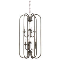 Thomas Lighting SL891815 Bella 6 Light 16 inch Oiled Bronze Chandelier Ceiling Light photo thumbnail