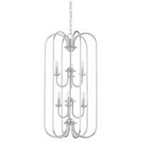 Thomas Lighting SL891878 Bella 6 Light 16 inch Brushed Nickel Chandelier Ceiling Light