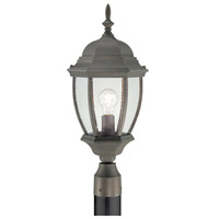 Covington 1 Light 22 inch Painted Bronze Outdoor Post