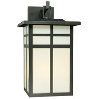 Mission 3 Light 19 inch Black Wall Lantern