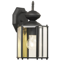 Thomas Lighting SL92427 Brentwood 1 Light 13 inch Black Wall Lantern