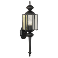 Thomas Lighting SL92437 Brentwood 1 Light 26 inch Black Wall Lantern