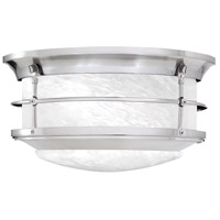 Newport 2 Light 11 inch Brushed Nickel Flush Mount Ceiling Light