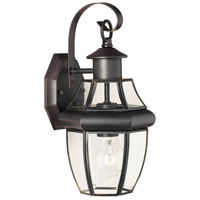 Thomas Lighting SL941363 Heritage 1 Light 13 inch Painted Bronze Wall Lantern