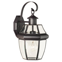 Thomas Lighting SL942463 Heritage 1 Light 16 inch Painted Bronze Wall Lantern