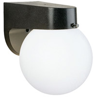 Essentials 1 Light 7 inch Black Outdoor Wall Lantern