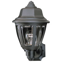 Thomas Lighting SL94407 Essentials 1 Light 14 inch Black Outdoor Wall Lantern