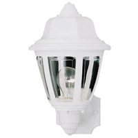 Thomas Lighting SL94408 Outdoor Essentials 1 Light 14 inch Matte White Exterior Sconce