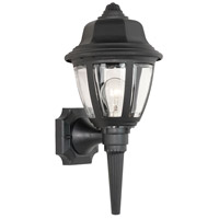 Thomas Lighting SL94427 Essentials 1 Light 18 inch Black Outdoor Wall Lantern