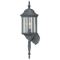 Thomas Lighting SL94517 Hawthorne 1 Light 26 inch Black Wall Lantern