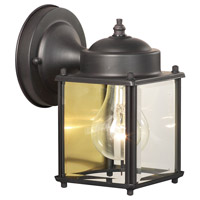 Park Avenue 1 Light 8 inch Painted Bronze Wall Lantern