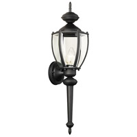 Thomas Lighting SL94767 Park Avenue 1 Light 24 inch Black Wall Lantern