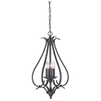 Thomas Lighting TC0023722 Prestige 4 Light 17 inch Sable Bronze Pendant Ceiling Light