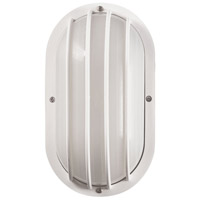 Essentials 1 Light 4 inch White Outdoor Wall Sconce
