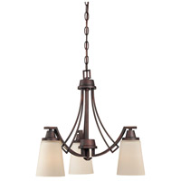 Wright 3 Light 20 inch Espresso Chandelier Ceiling Light