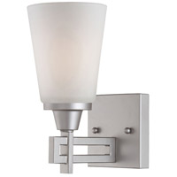 Wright 1 Light 5 inch Matte Nickel Wall Sconce Wall Light