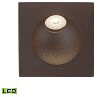 Zone 2 watt Matte Brown Step Light