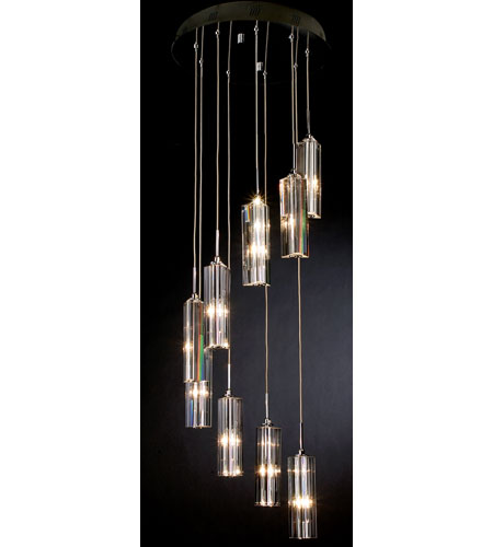 Trend Lighting Spirale 9 Light Pendant in Polished Chrome A800026-9-T photo
