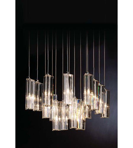 Trend Lighting Diamante 16 Light Pendant in Polished Chrome A900126-16-S photo
