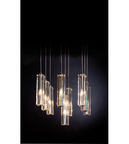 Trend Lighting Diamante 9 Light Pendant in Polished Chrome A900126-9-S photo