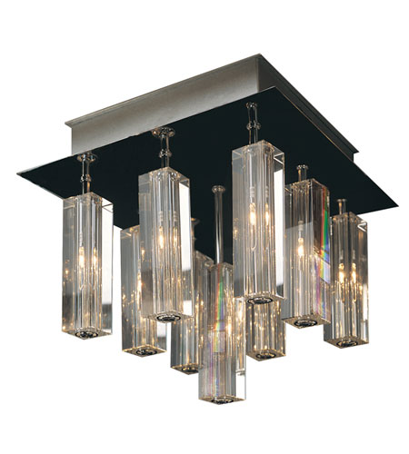 Trend Lighting Horizons 9 Light Flushmount in Polished Chrome A908026-9-S photo