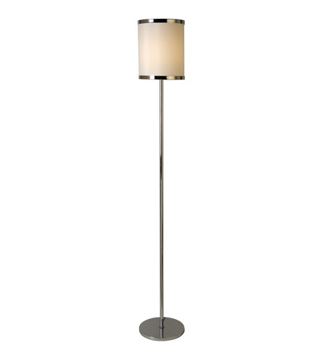 Trend Lighting Lux 1 Light Floor Lamp in Polished Chrome BF4827 photo