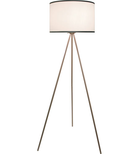 Trend Lighting Threads 1 Light Floor Lamp in Brushed Nickel BF5532 photo
