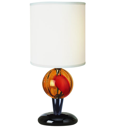 Trend Lighting Soleil 1 Light Accent Lamp in Ebony Lacquer BT1200 photo