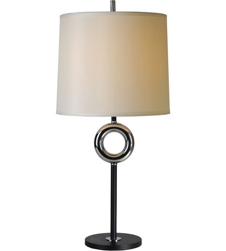 Trend Lighting Journey 1 Light Table Lamp in Matte Black and Chrome BT5500 photo